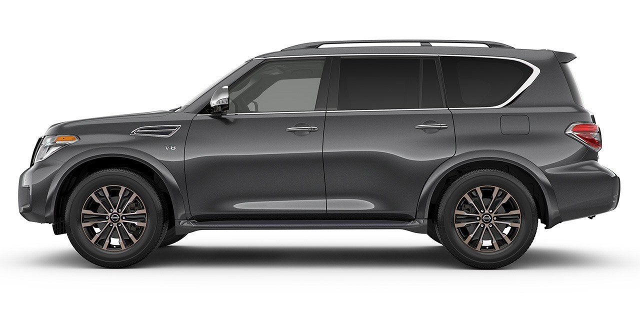 View Interior And Exterior Photos Accessories And Color Options For The All New 2017 Nissan Armada Nissan Armada Nissan Nissan Cars