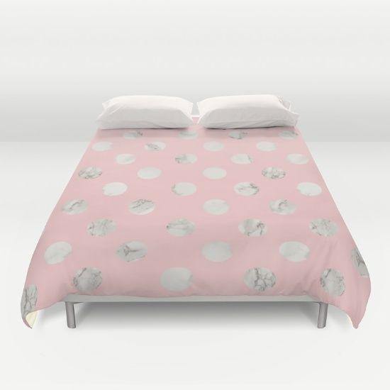 New In Store Marble Rose Duvet Cover