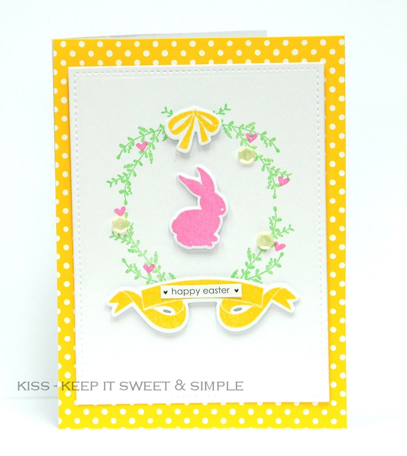Kiss Keep It Sweet And Simple Easter Bunny Easter Ideas