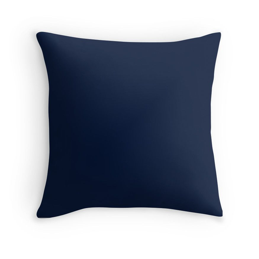 25501c3eaa Dark Blue / Maastricht Blue Solid Color | Throw Pillow | Products ...