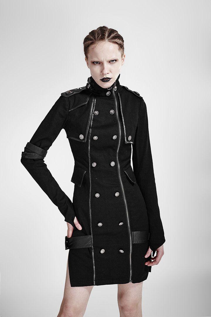 Military Uniform-Kleid Executive in 2018 | Besondere Gothic Mode für ...