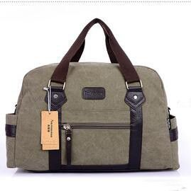2016 New Man's Handbag Fashion Canvas Travel Luggage High Quality Large Capacity Shoulder bag Business bags for Men bolsos M006