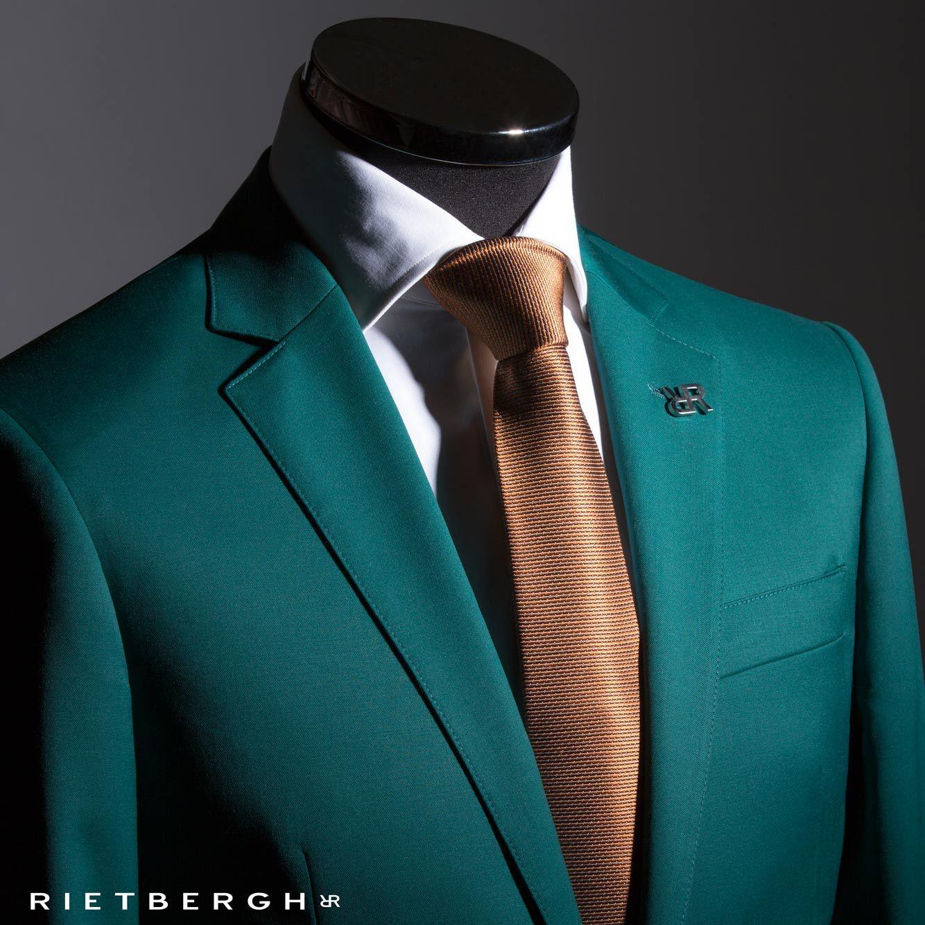 Groen maatpak - green suit - green wedding suit - groen trouwpak ...