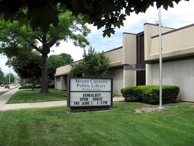 Our Favorite Library, Mount Clemens Public Library, is