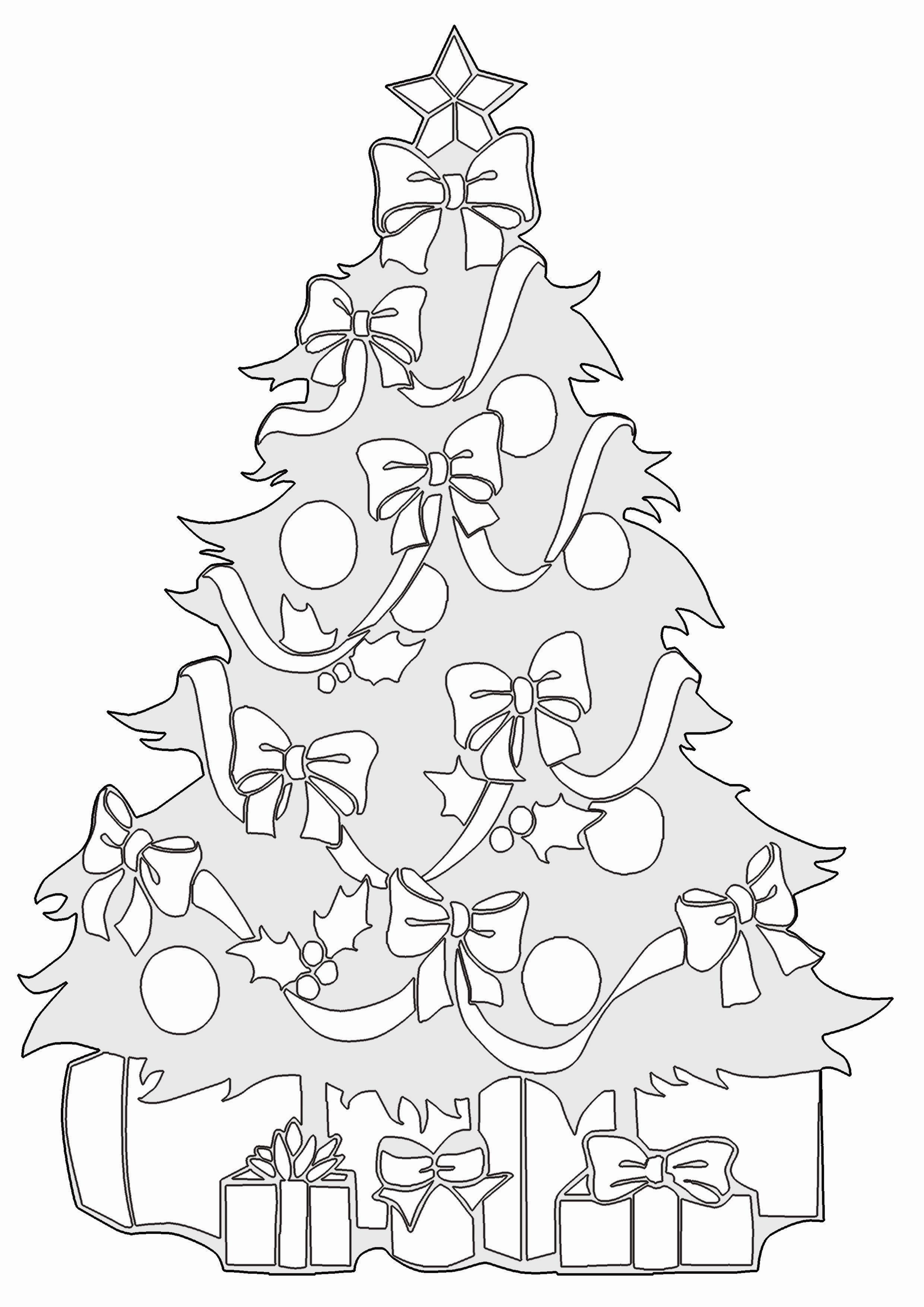 malvorlagen weihnachten weihnachtsbaum – Ausmalbilder für ...