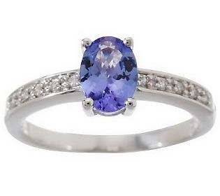 0.65 ct tw Tanzanite Choice of Cut Sterling Ring