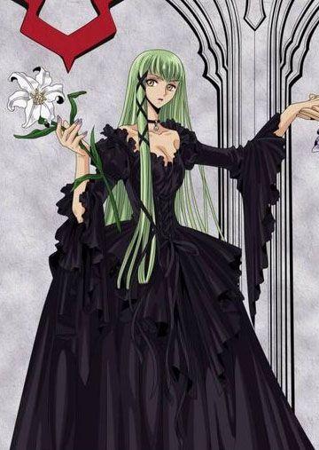 Resultado de imagen para cc code geass black dress