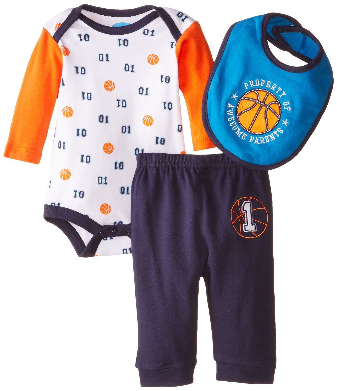 Amazon BON BEBE Baby Boys Newborn Awesome Parents Bodysuit with