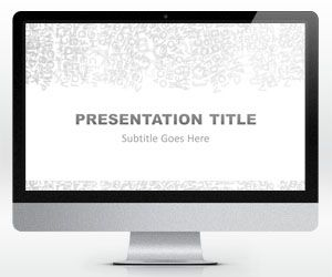 Widescreen alphabet powerpoint template is a free simple light widescreen alphabet powerpoint template is a free simple light powerpoint template that you can download for presentations on literature book reviews or toneelgroepblik