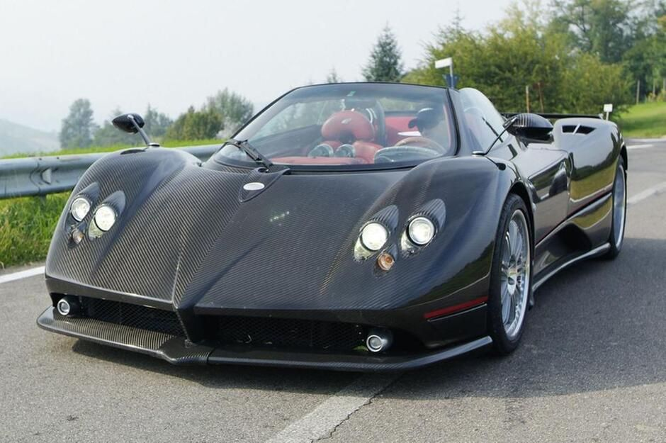 pagani zonda roadster f | autos - cars - coches - voitures