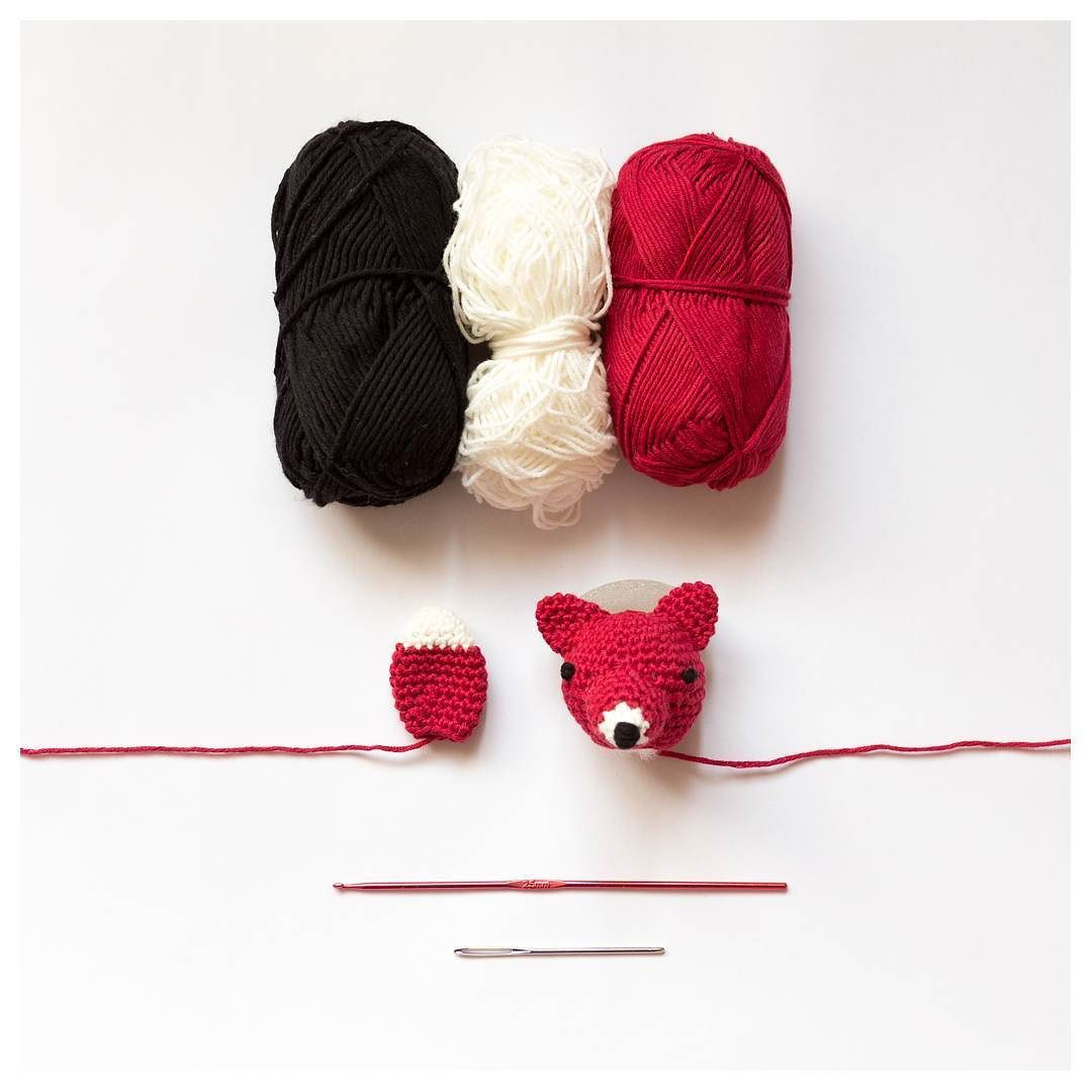 Fox is coming! Zorro en proceso! #crochet #crochetlove #crochetlover ...