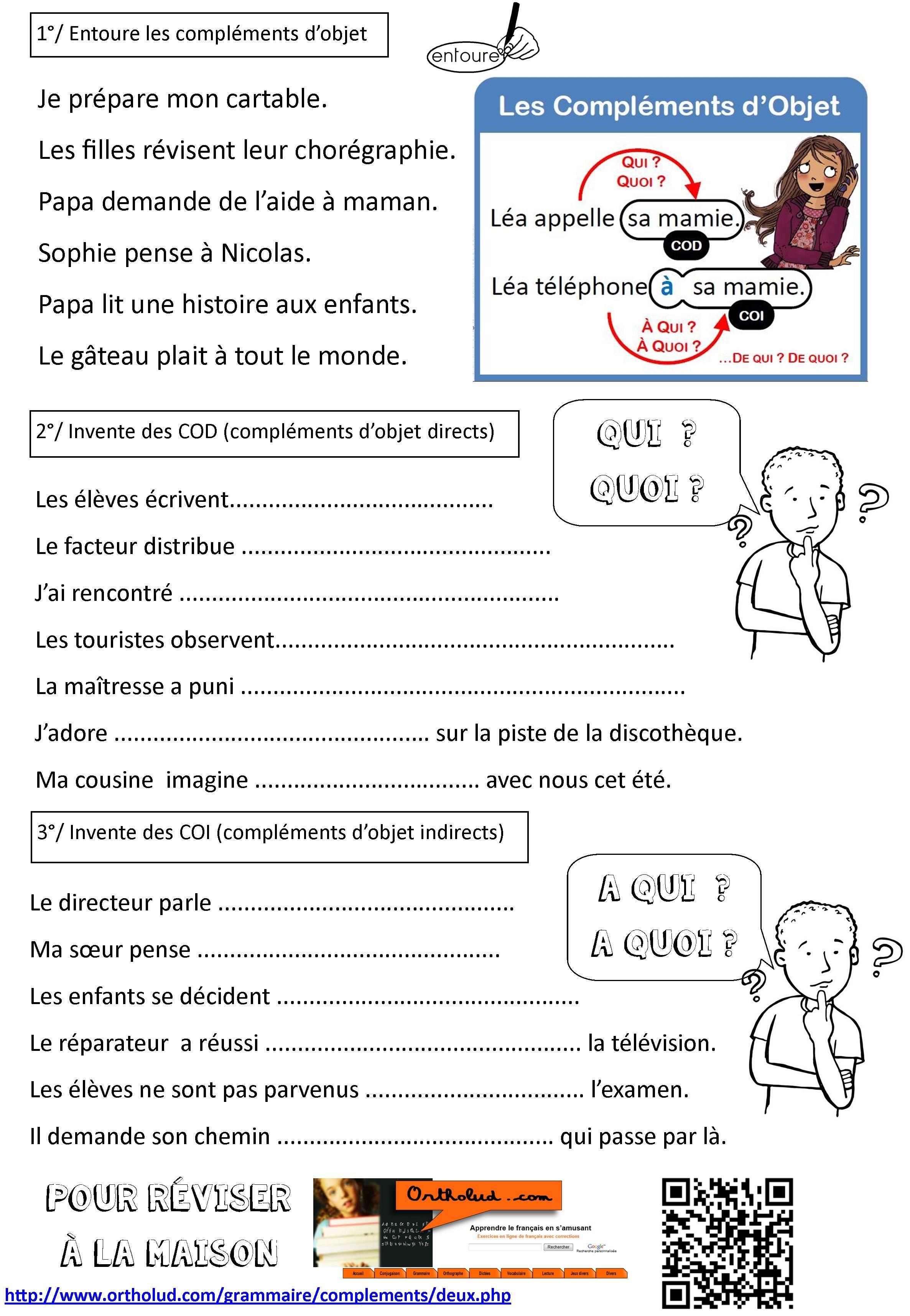 Cod 2 Jpg 2 373 3 430 Pixels Grammaire Cm2 Grammaire Ce2 Grammaire Cm1
