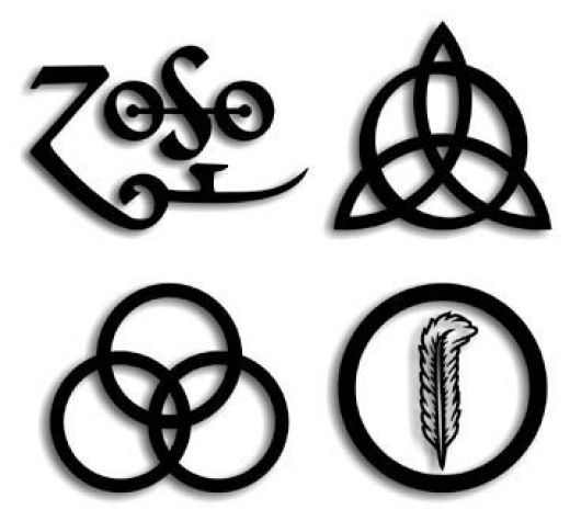 7a899b092 Zoso: Jimmy Page's Symbol on the Led Zeppelin IV Album | Tattoos ...