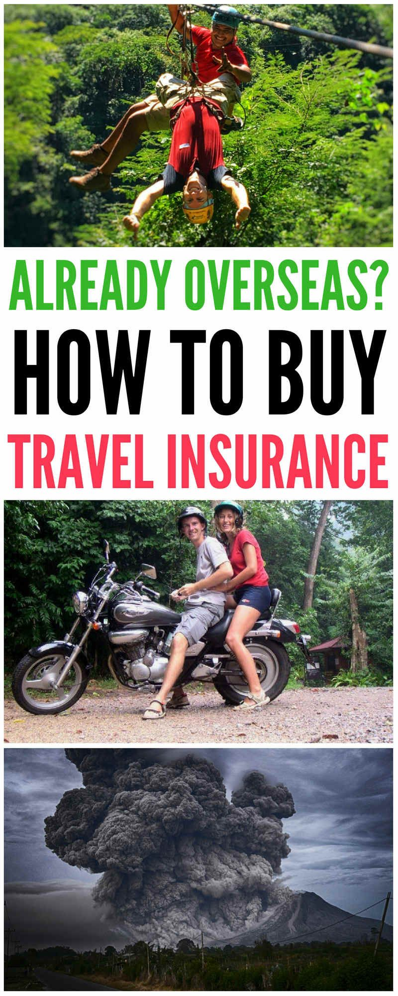 Can I Buy Travel Insurance If I'm Already Abroad? (With ...