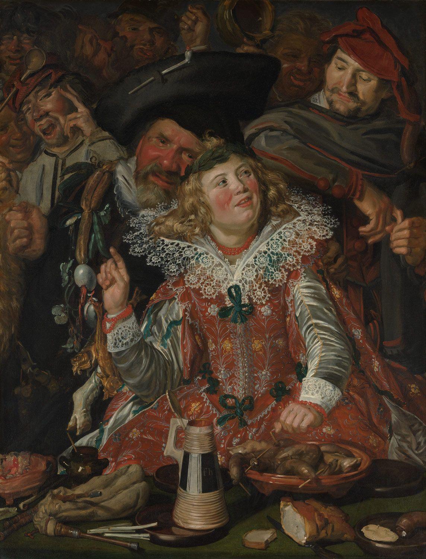 Frans Hals Merrymakers at Shrovetide The Met Baroque
