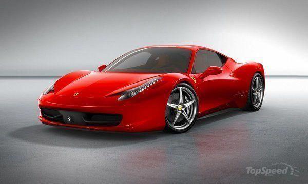 Ferrari 458 Girl Supercars