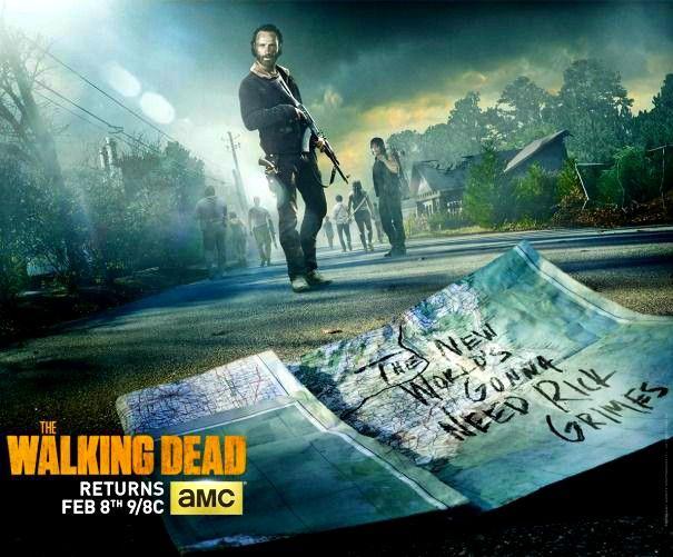 The Walking Dead - Midseason 5 poster premiere