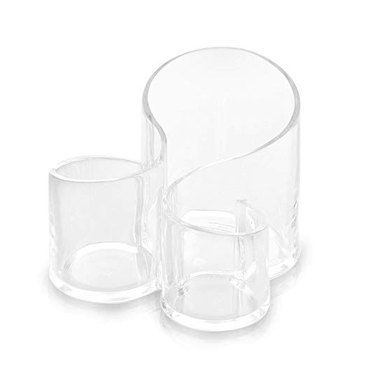 Amazon.com: Twing Acrylic Clear Wave Shape Makeup Holder