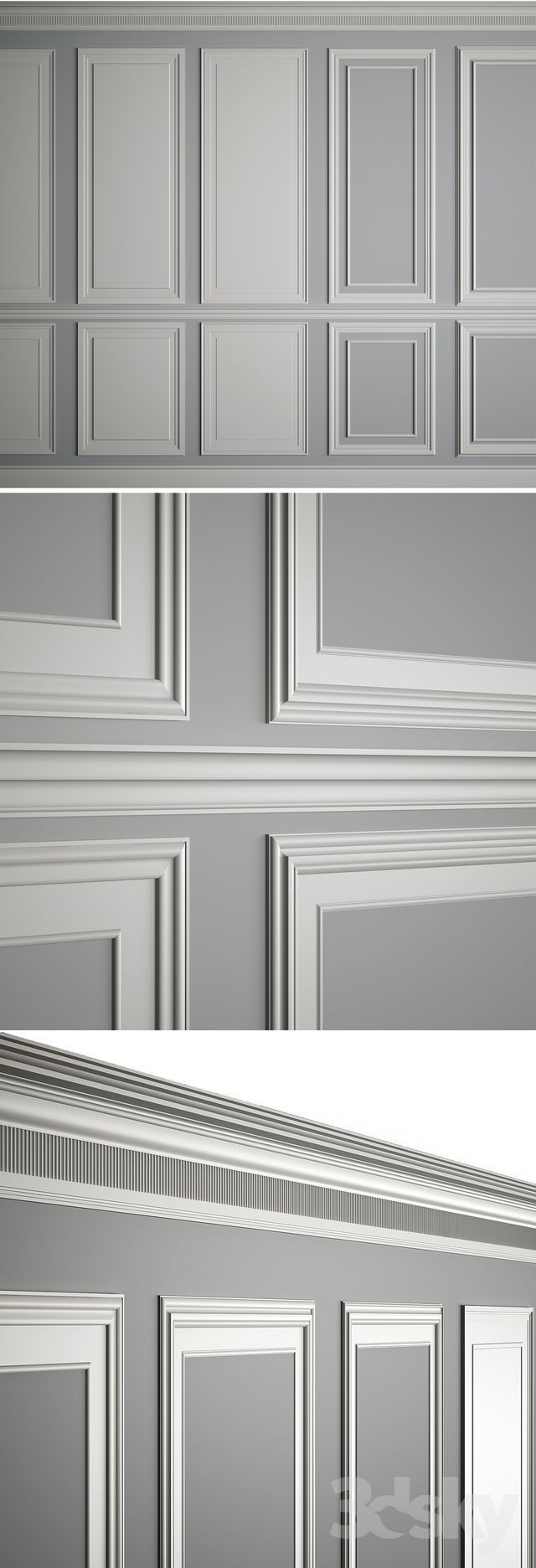 3d Models Decorative Plaster Moldings On The Walls Zimmerdecke Verputzen Zimmerdecke Paneele Zimme Haus Deko Klassische Inneneinrichtung Innenverkleidung