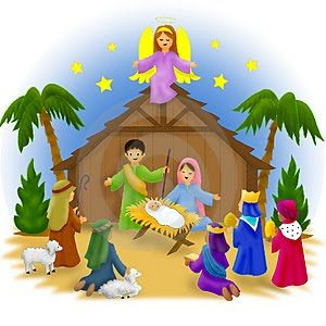 graphic about Nativity Clipart Free Printable identify Nativity Scene Clip Artwork Free of charge Nativity Clip Artwork 081510