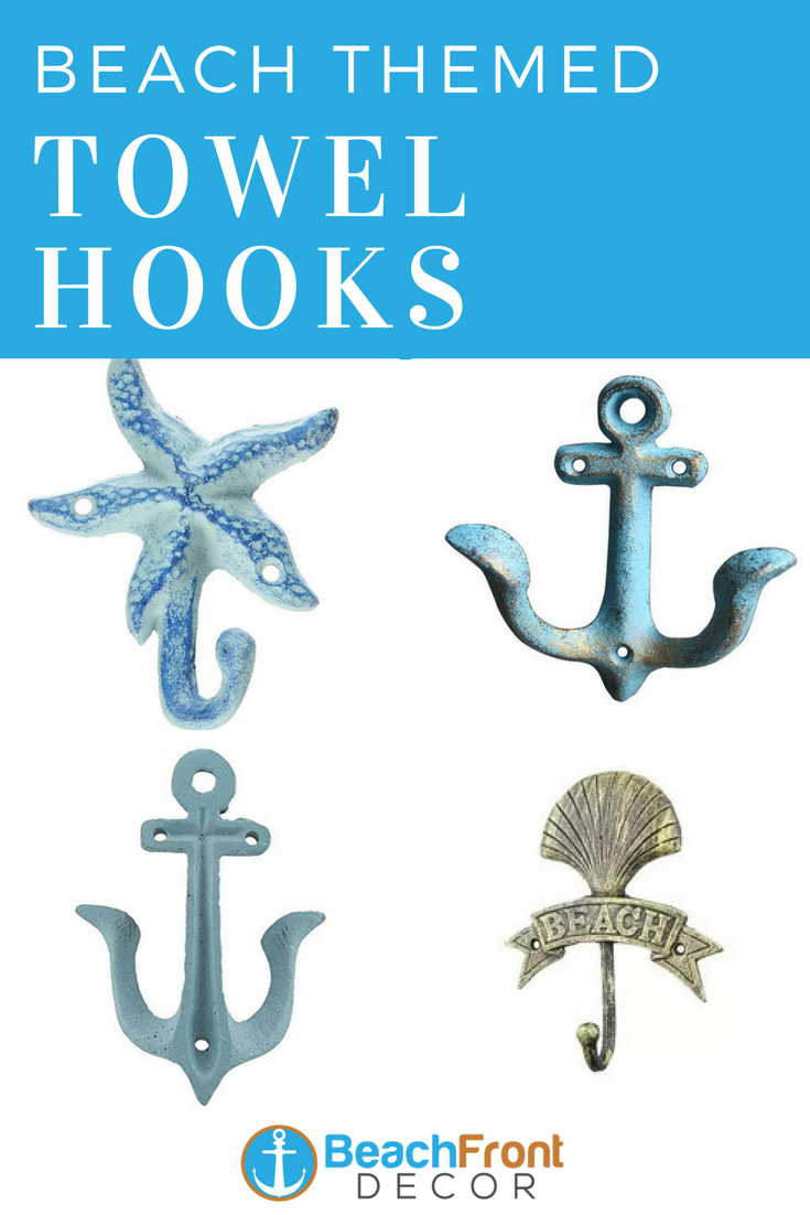 Beach Wall Hooks And Beach Towel Hooks Beachfront Decor In 2020 Beach Wall Decor Beachfront Decor Towel Hooks
