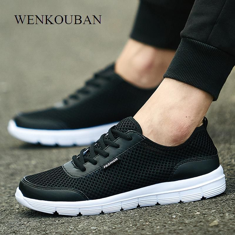 3913fd60e0b26c Air Mesh Shoes Women Sneakers PLUS Size Summer Basket Femme Ladies Trainers  Casual Shoes Tenis Feminino White Black Shoes Zapato