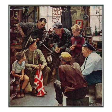Pin By Clay W Sherman On Rockwell And More In 2021 Norman Rockwell Paintings Norman Rockwell Art Norman Rockwell Prints