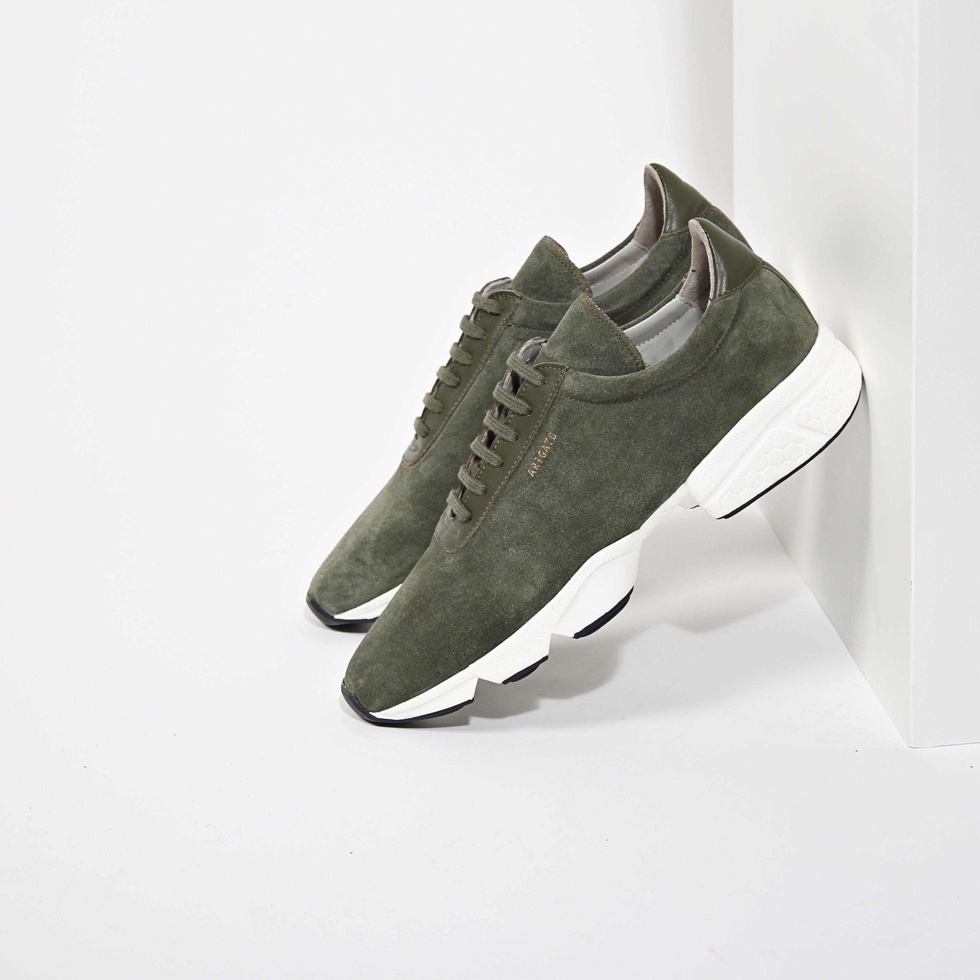Axel Arigato suede sneaker, handmade in Italy axelarigato.com