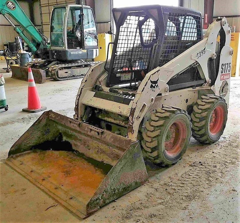 Genuine Bobcat 2012 S175 Wheeled Skid Steer Skidsteer Loader 1980 Hrs Bobcat Monster Trucks Bobcat Steer