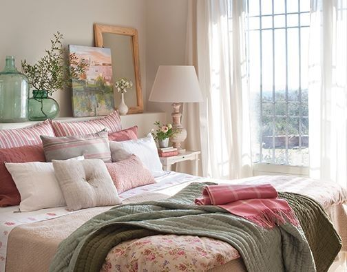 Textiles para la cama de matrimonio