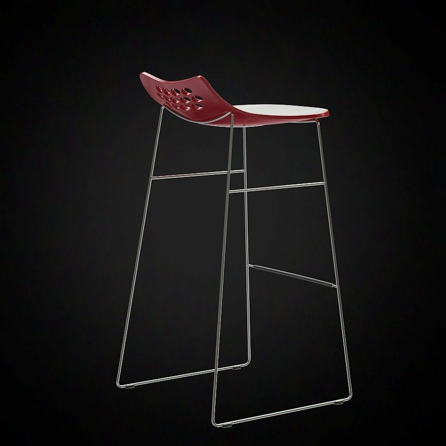 Calligaris Jam Stool 3d Furniture Model Use Promo Code Pin3d And Get 20 Off 8 00