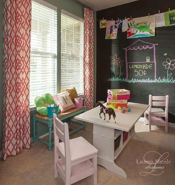 Arts & Crafts Room eclectic kids