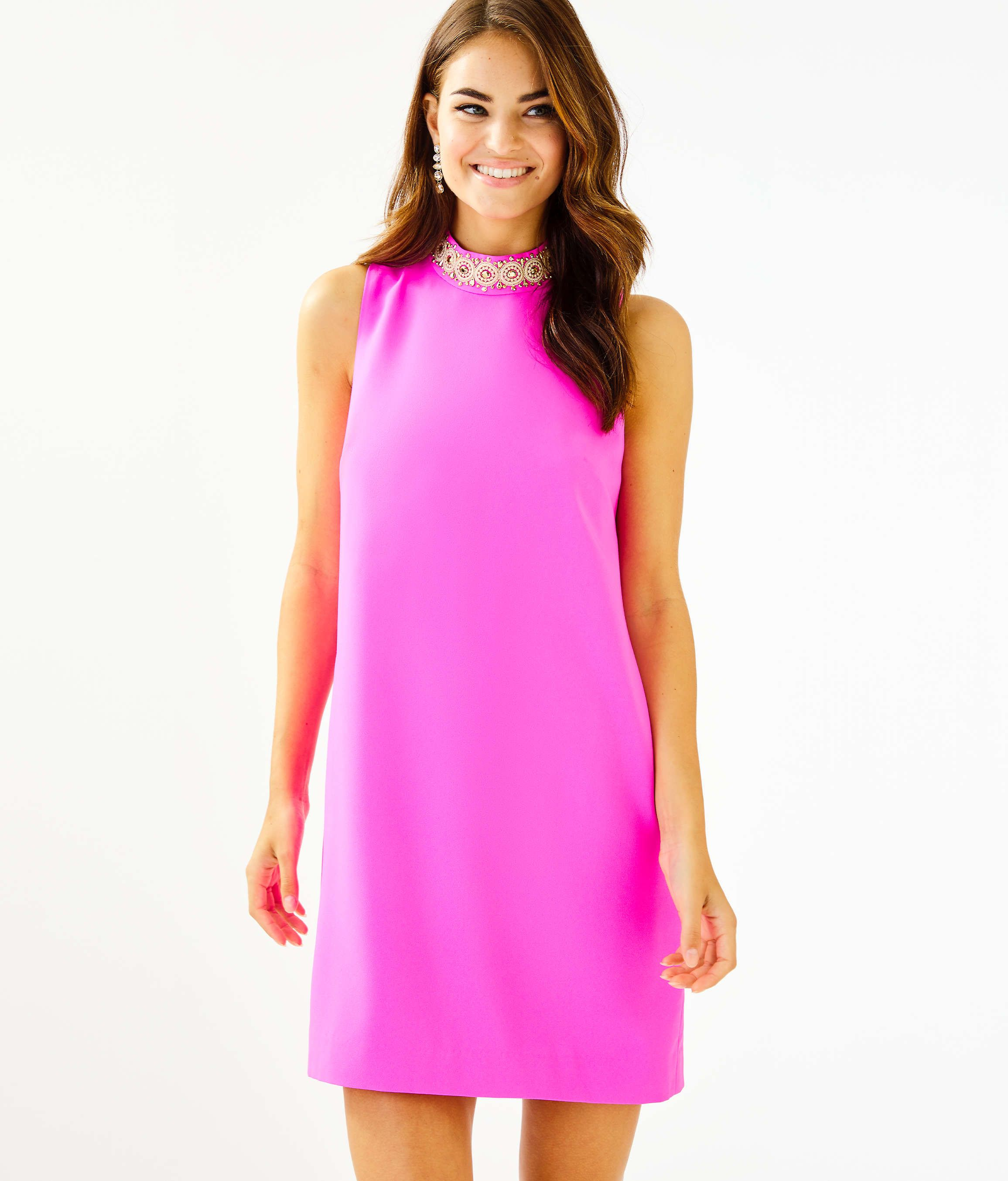 Brandi Beaded Stretch Shift Dress In 2020 Trendy Outfits Inspiration Shift Dress Preppy Dresses [ 2706 x 2311 Pixel ]