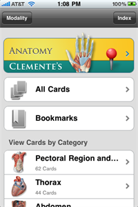 Anatomy flash cards. Don't miss this series.
