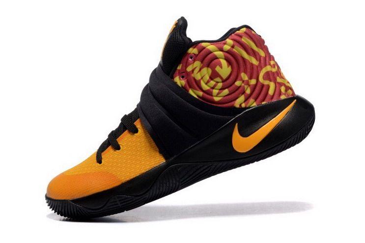 Nike Kyrie 2 chaussures jaune noir Nike Kyrie 2 Pinterest