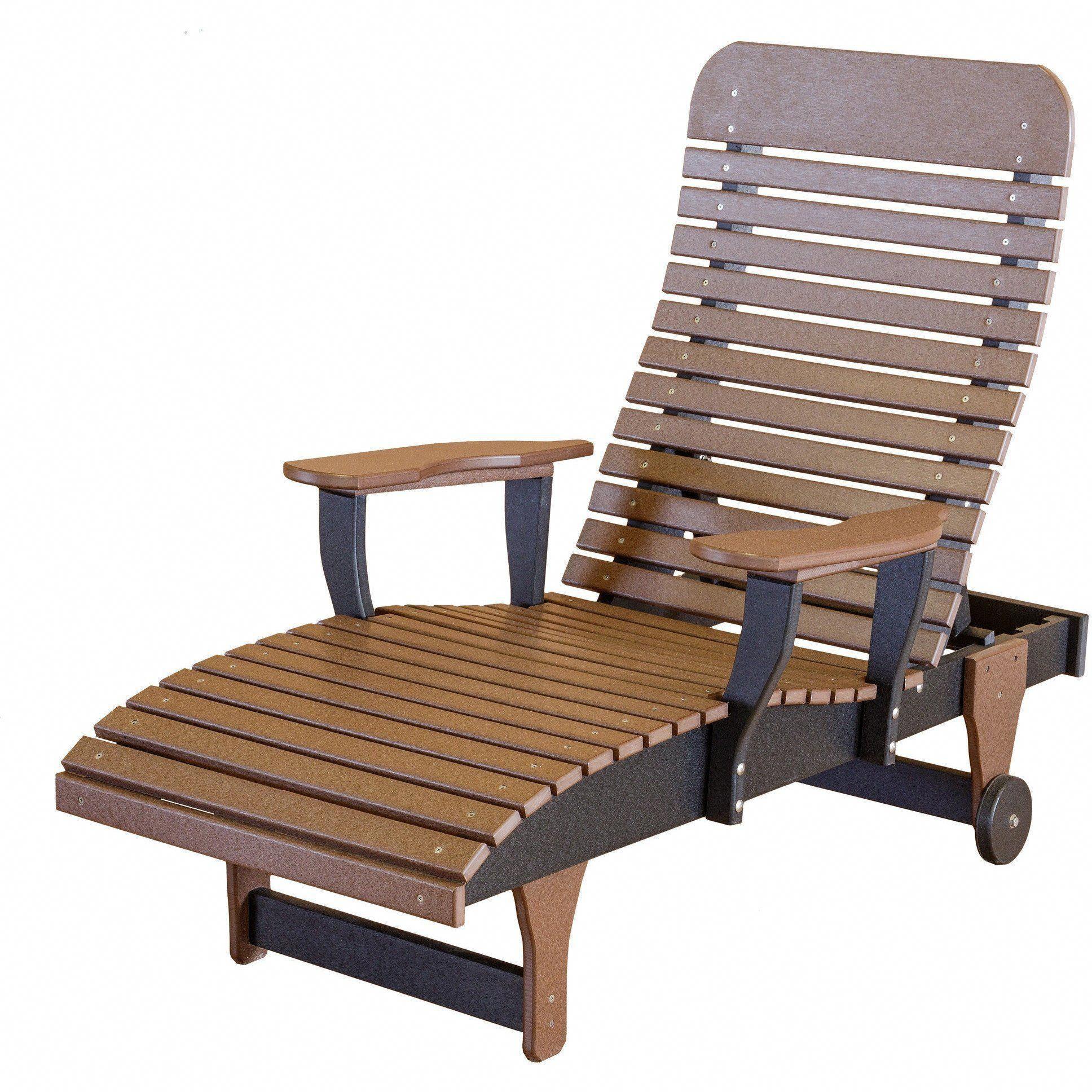 Wildridge Recycled Plastic Heritage Chaise Lounge Lead