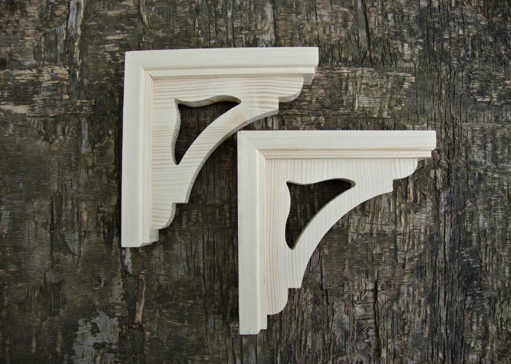 Victorian Wooden Rustic Corbels Set Of 2 In 2020 Corbels Wooden Rustic