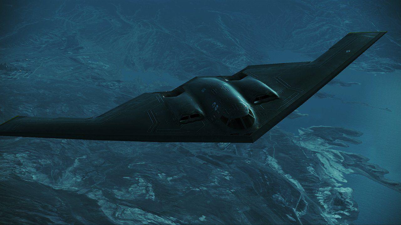 Ace Combat Assault Horizon B2 Spirit By Scarlighter On