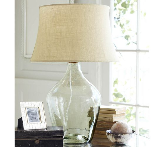 Clift Glass Table Lamp Base Clear Pottery Barn