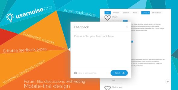 usernoise pro modal feedback contact form https codeholder net