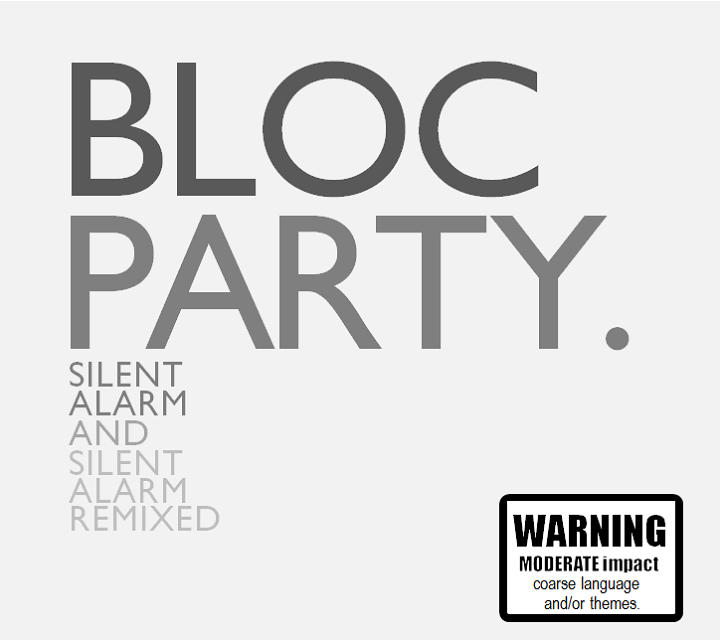 Silent Alarm And Silent Alarm Remixed By Bloc Party Remix Party Moderation