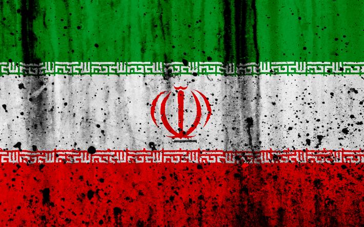 Download Wallpapers Iranian Flag 4k Grunge Flag Of Iran Asia Iran National Symbols Iran National Flag Besthqwallpapers Com Iran Flag Iranian Flag Flag Tattoo