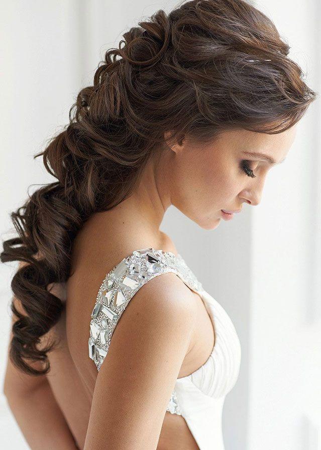 Pin De Mariana Romero En Peinados Para Bod Peinados De Novia Semirecogidos Peinados Elegantes Peinados De Novia