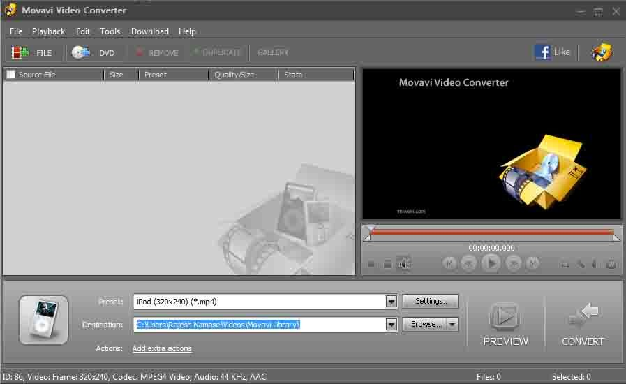 movavi video converter crack activation key