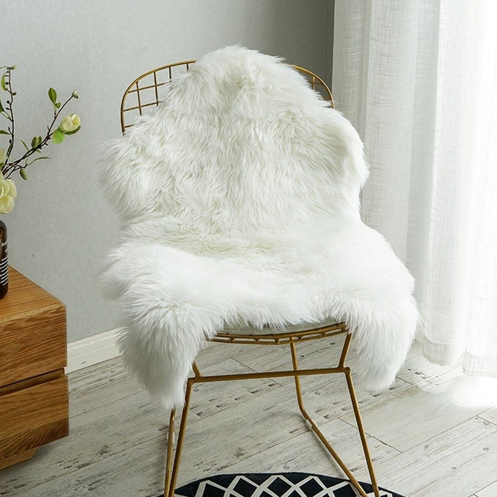 27 Things That Ll Make You Never Wanna Leave Your Bedroom Sheepskin Chair Faux Sheepskin Rug Bedroom Rug