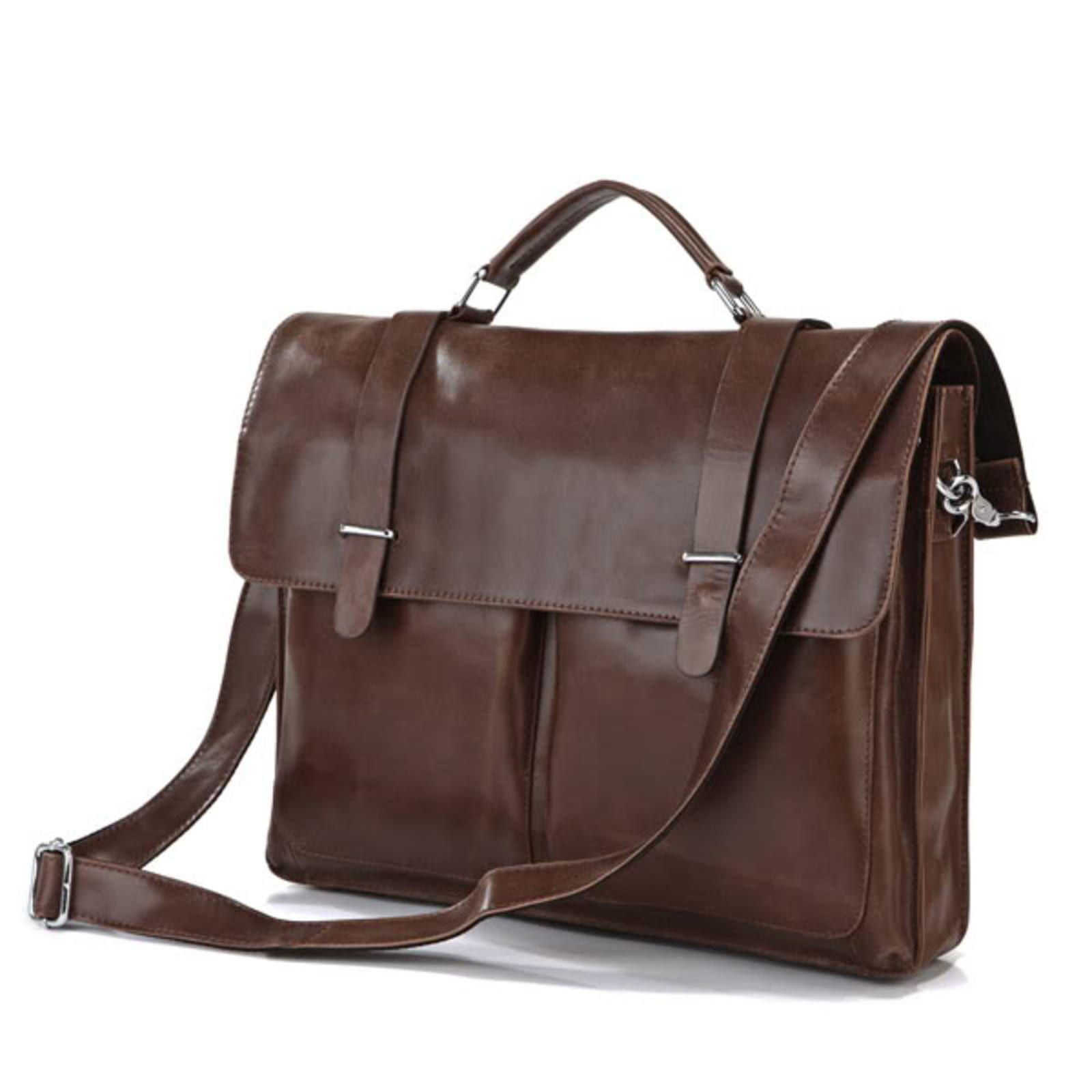 Funda de cuero vintage marrón | ¡En stock! El | Bolsos Delton