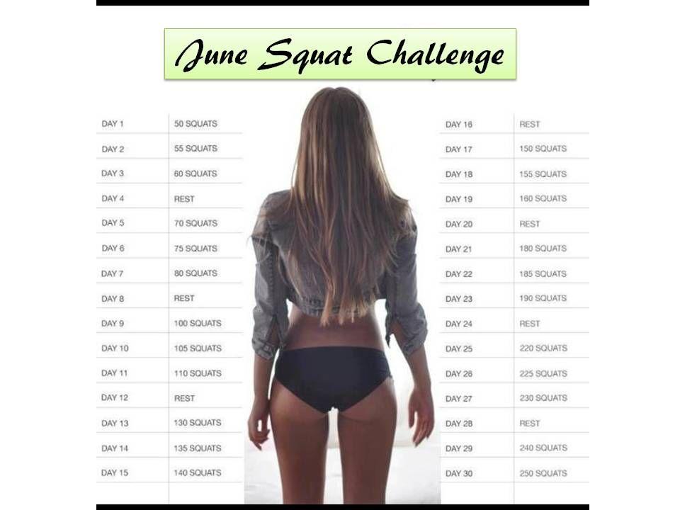 june squat challenge
