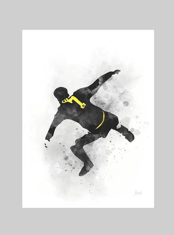 I don't know why, but he loves uk ! Eric Cantona Art Print Illustration Kung Fu Kick Manchester Eric Cantona Manchester United Art Art Prints