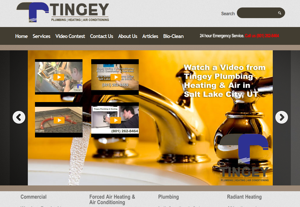 Tingey Plumbing Heating and Air Forced air heating, Air