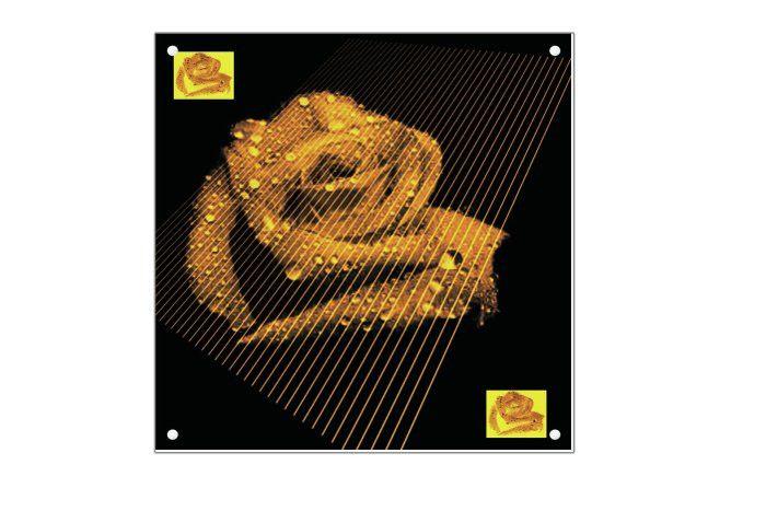 Kunst Acryl 60 x 60 cm  von Wohndesign und Accessoires MWL Design NL auf DaWanda.com